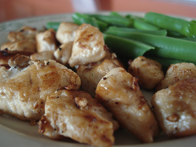 Chicken Breast & Green Beans