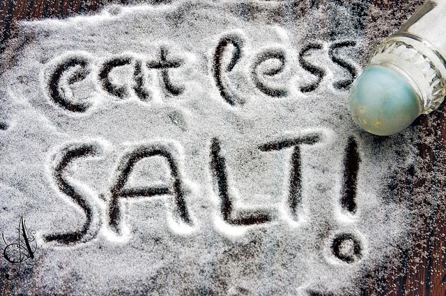 (EXPLORED) eat less SALT!