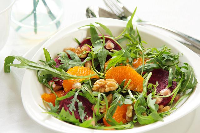 Rocket wth orange salad
