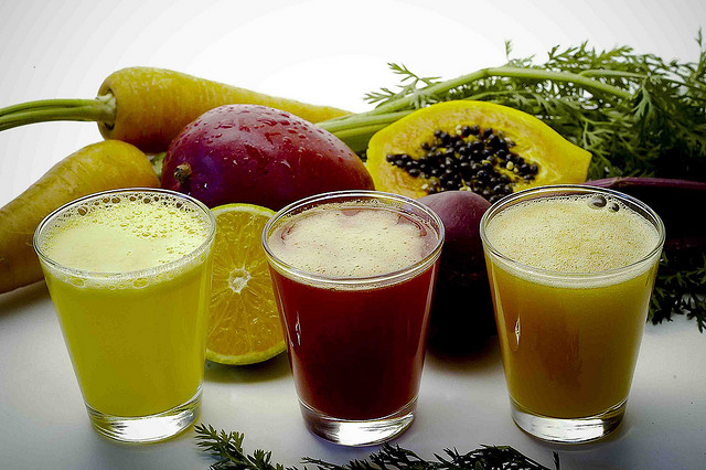 Suco de frutas - Fruit juices
