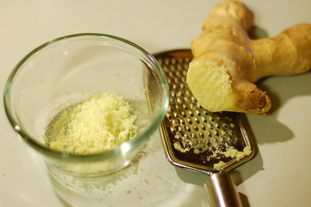 Grated Ginger Root