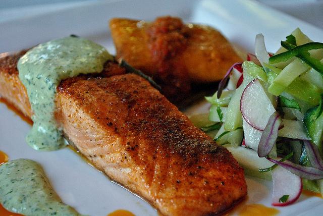 Ancho Seared Salmon