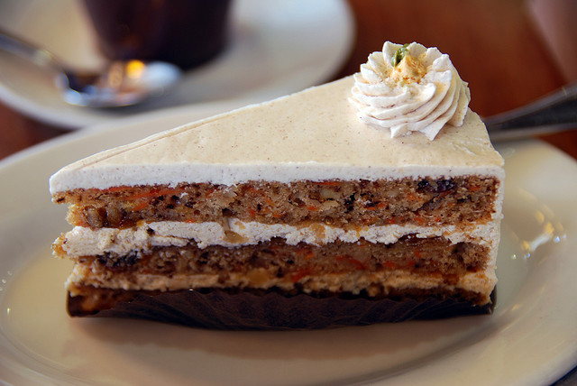 Carrot Cake @ M Café