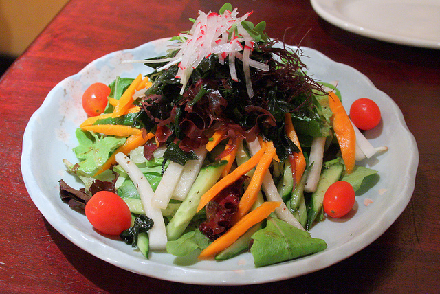 Kaiso Seaweed Salad at Musha