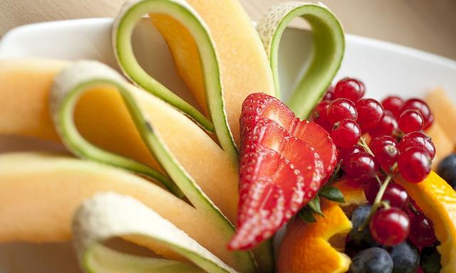 Dessert Obst Kaffeepause Snack gesund vitamine food essen ernährung hotel