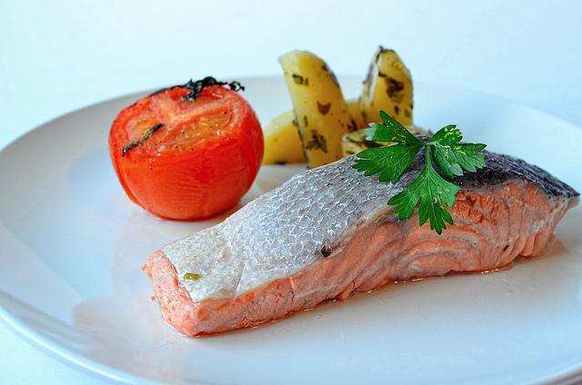 Homemade Salmon Set