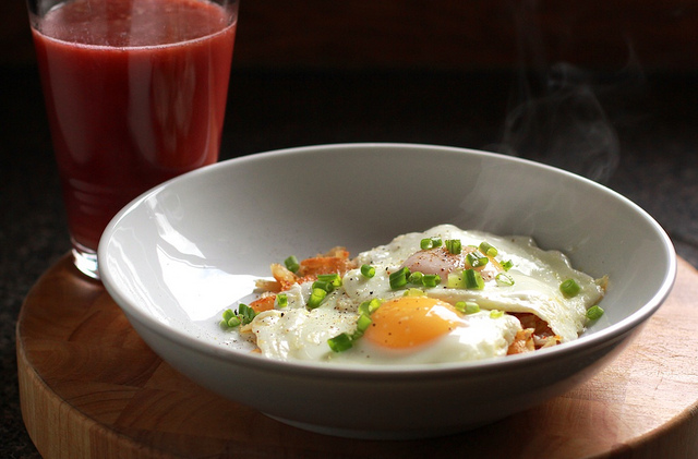 Southwestern Hash Browns with Egg