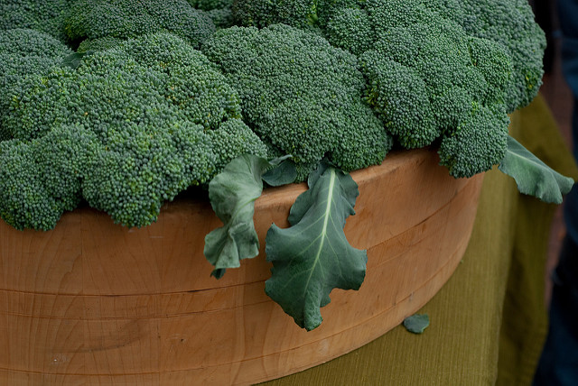 Broccoli at the Farmers Market