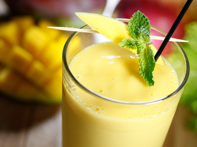 Indian Mango Lassi - gestational diabetes recipes