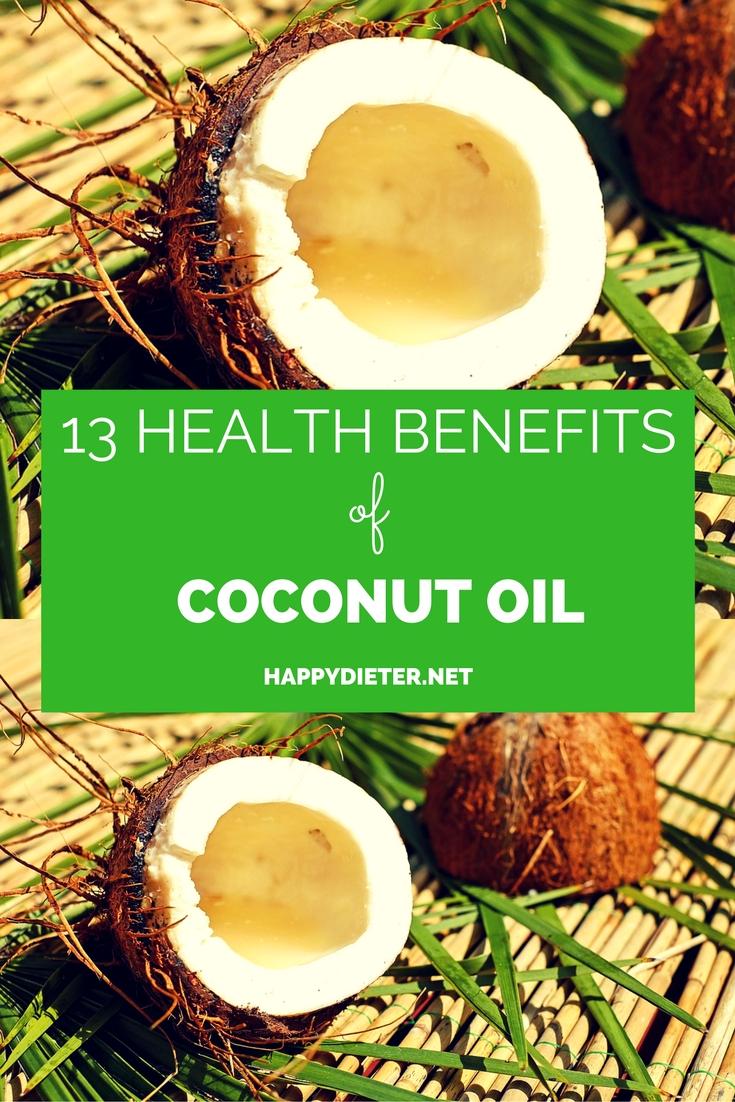 13 Health Benefits Of Coconut Oil
