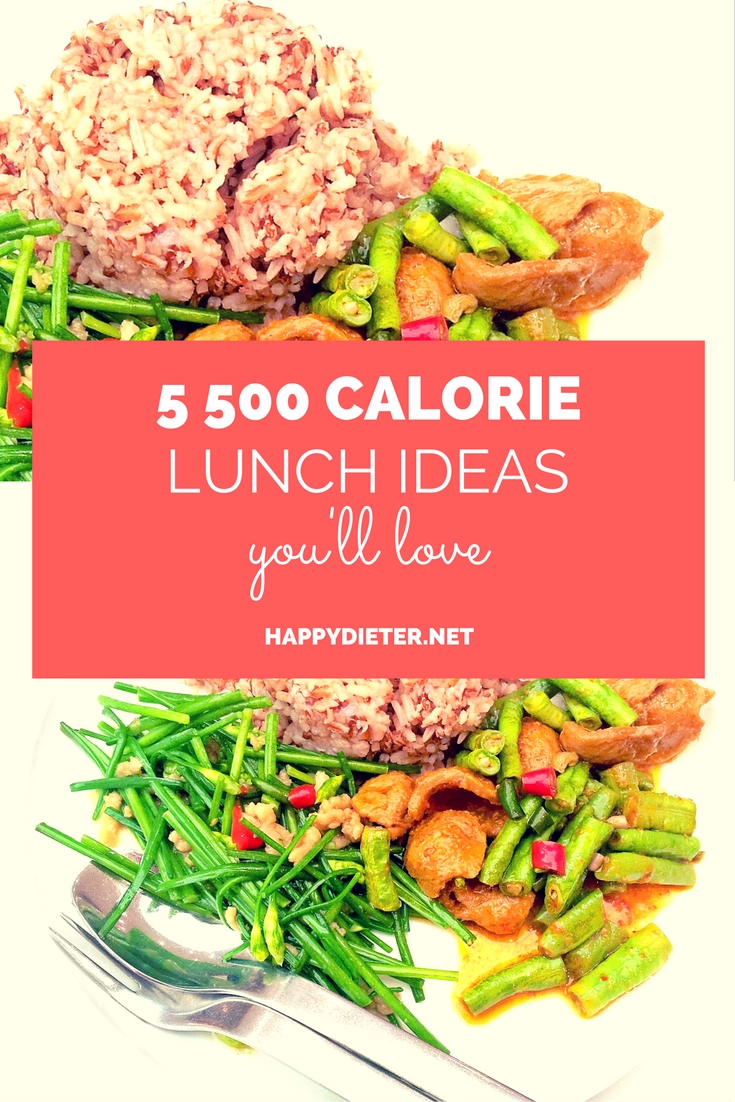 5 500 Calorie Lunch Ideas You'll Love