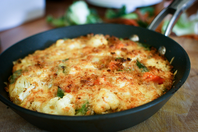 Cauliflower Cheese Frittata