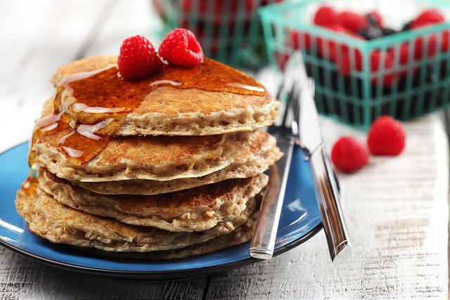 Cinnamon Oatmeal Pancakes 3