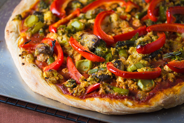 Easy Vegan Pizza Crust