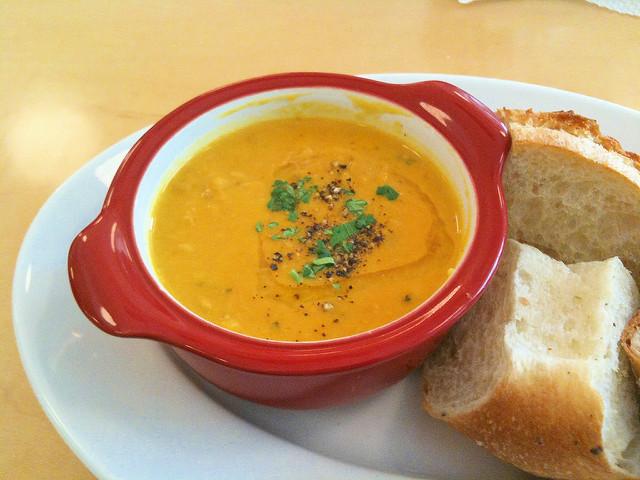 Pumpkin's soup