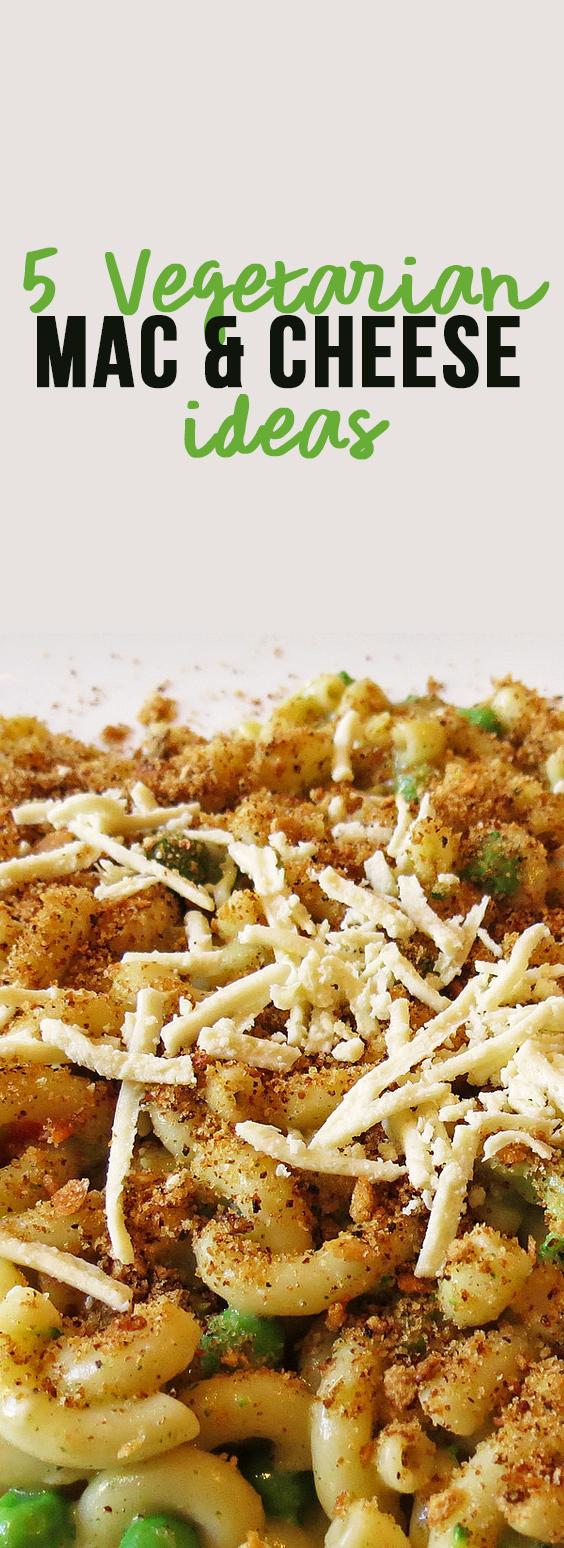 5 Vegetarian Mac And Cheese Ideas