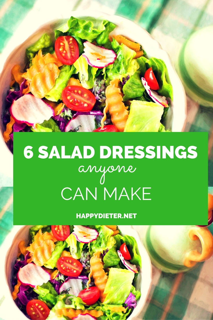 6 Salad Dressings Anyone Can Make