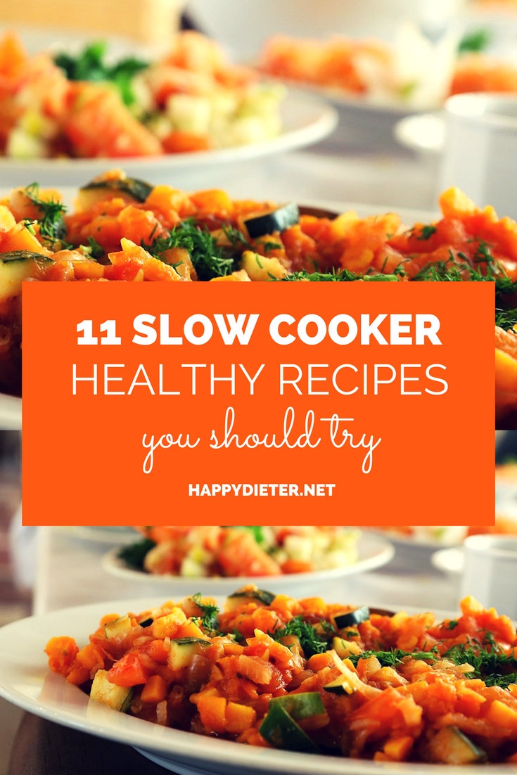 11 Slow Cooker Healthy Recipes