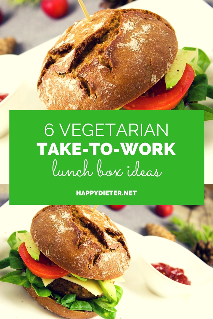 6 Vegetarian Take-To-Work Lunch Box Ideas