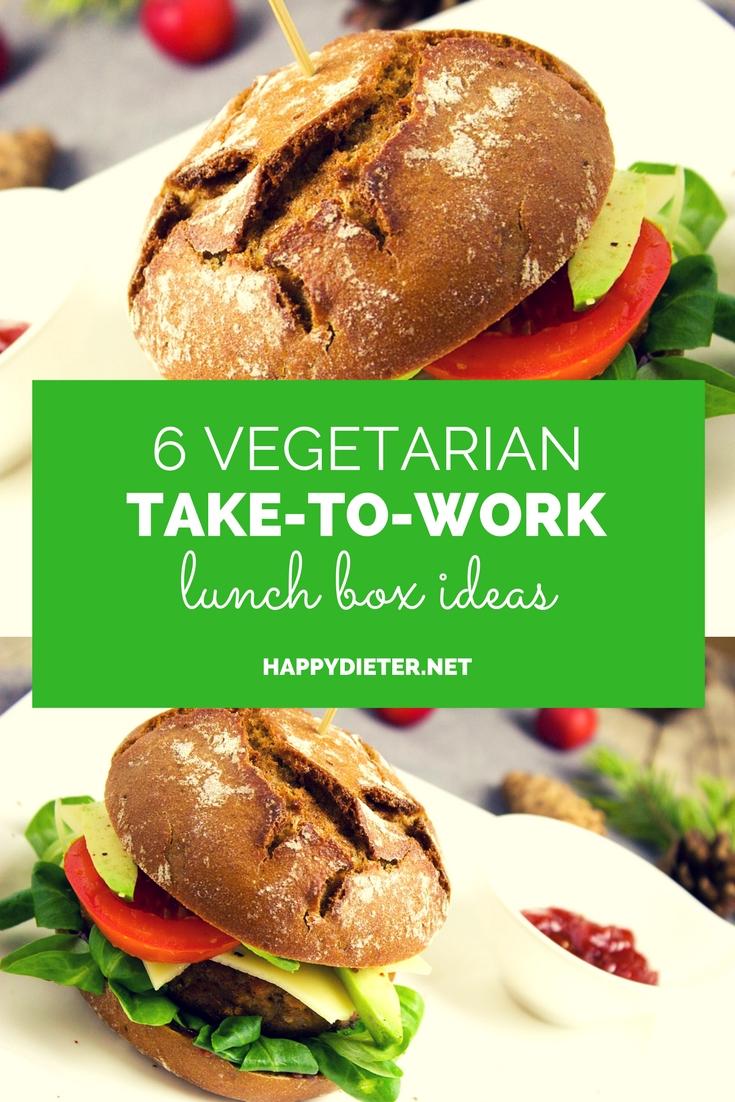 6 Vegetarian Take To Work Lunch Box Ideas