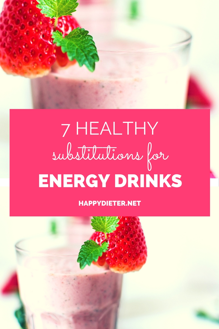 7 Healthy Substitutions For Energy Drinks