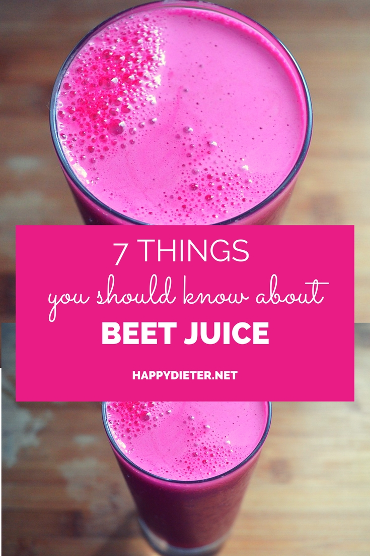 7 Things You Should Know About Beet Juice