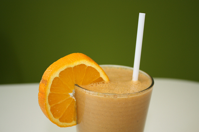 Carrot Orange Tropical Smoothie
