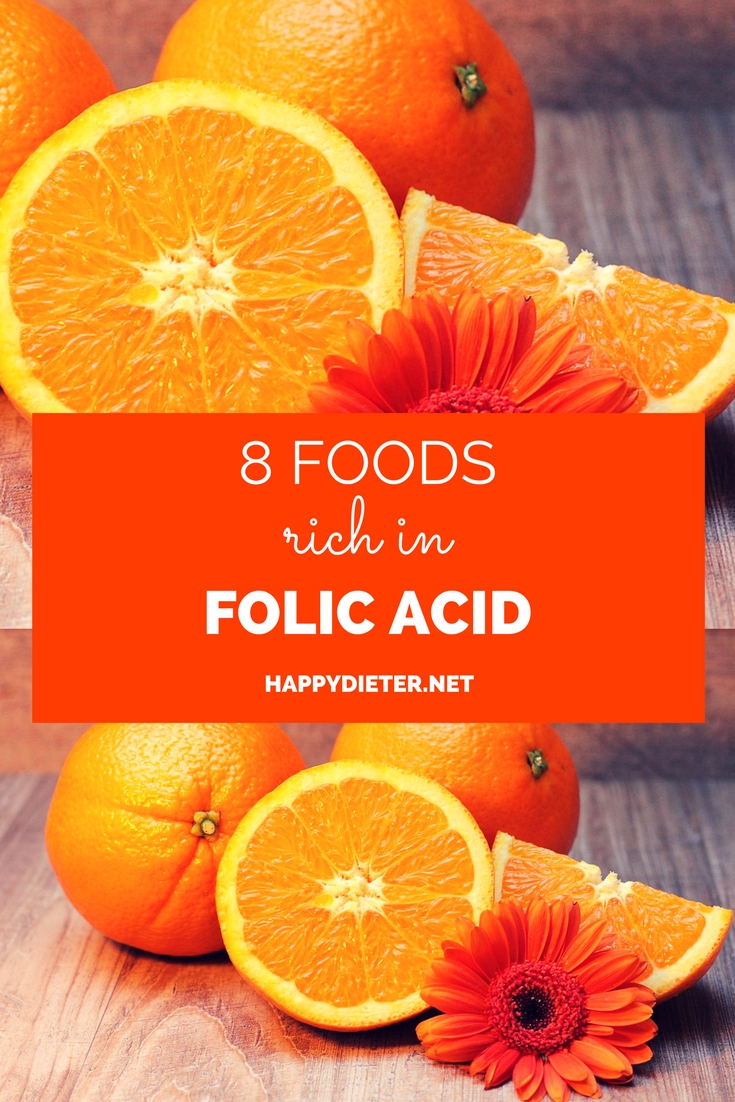 8 Foods Rich In Folic Acid