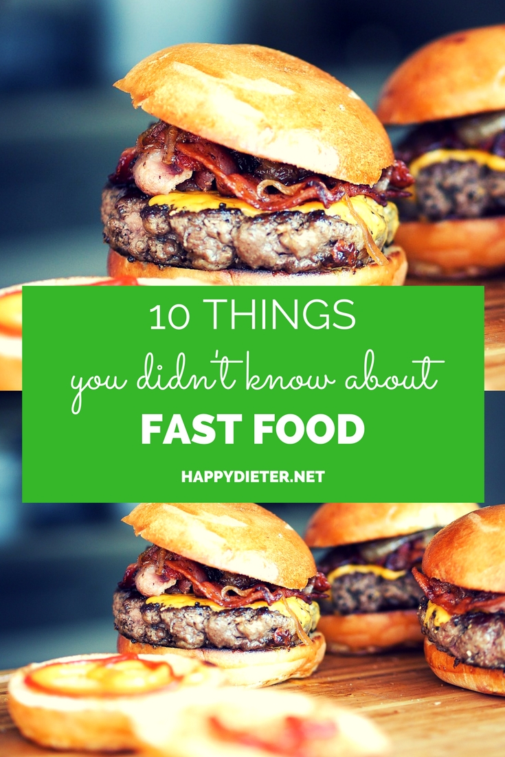 10 Things You Didn't Know About Fast Food