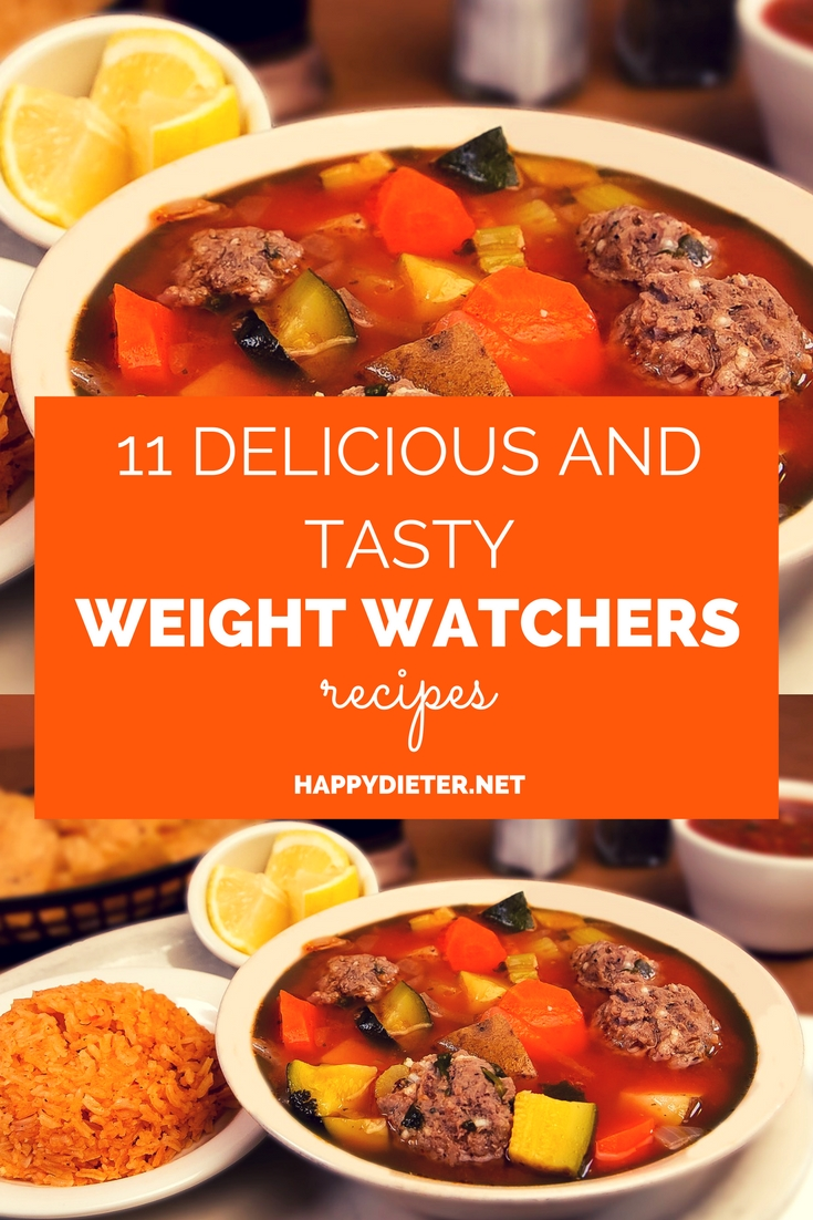 11 Delicious And Tasty Weight Watchers Recipes