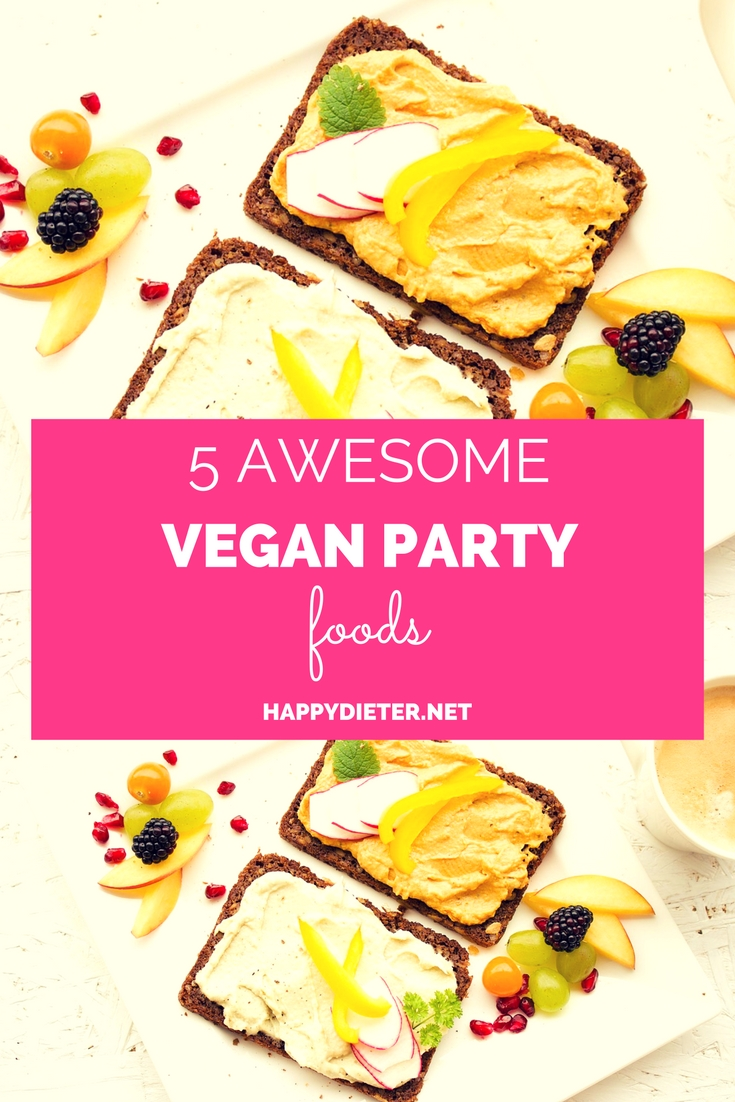 5 Awesome Vegan Party Foods