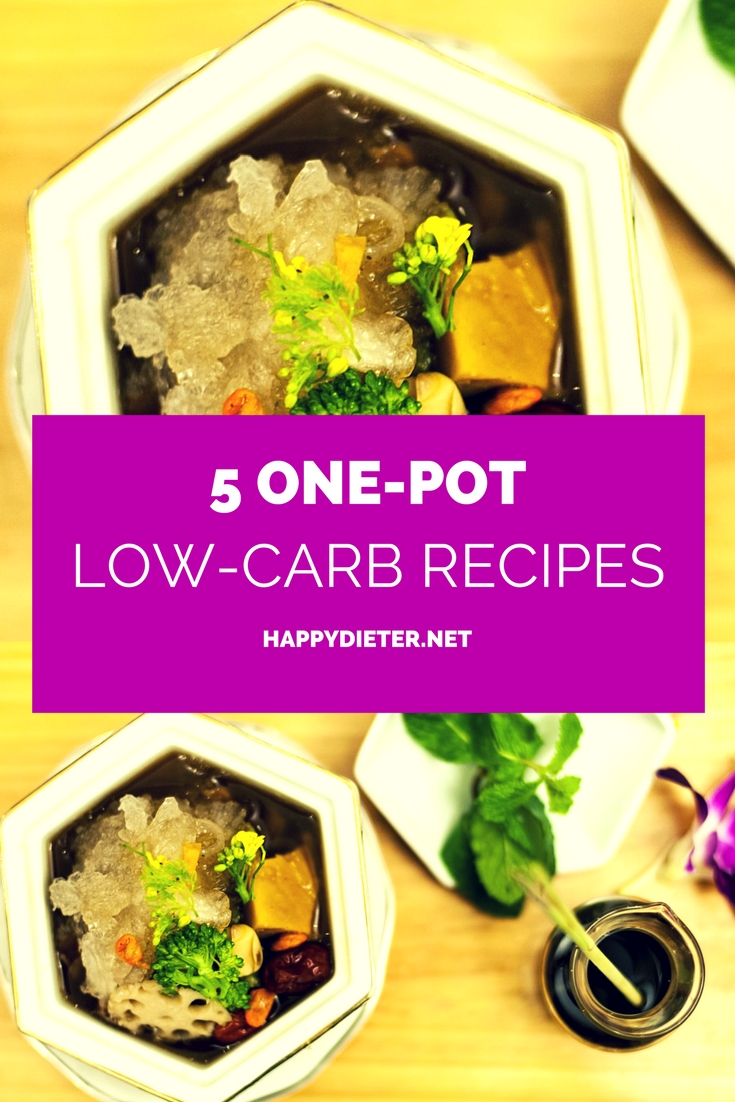 5 One Pot Low Carb Recipes Happy Dieter
