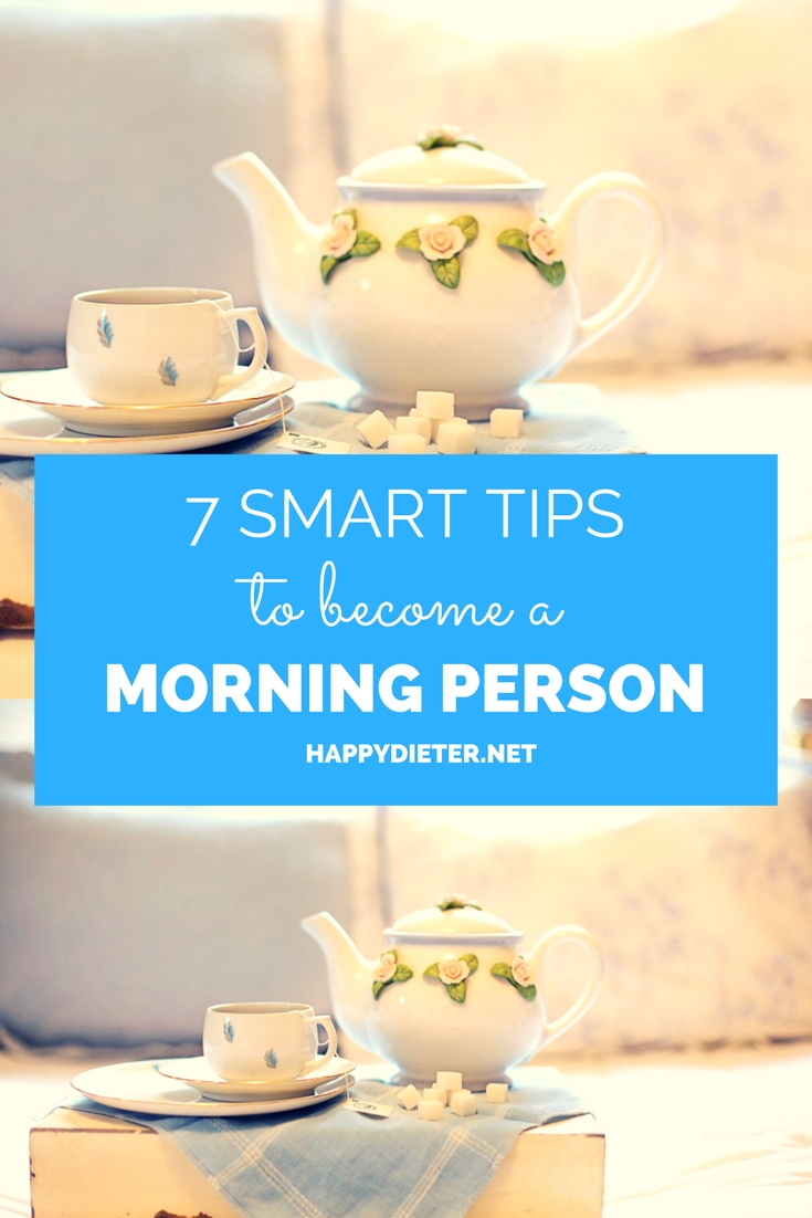 7 Smart Tips To Become A Morning Person