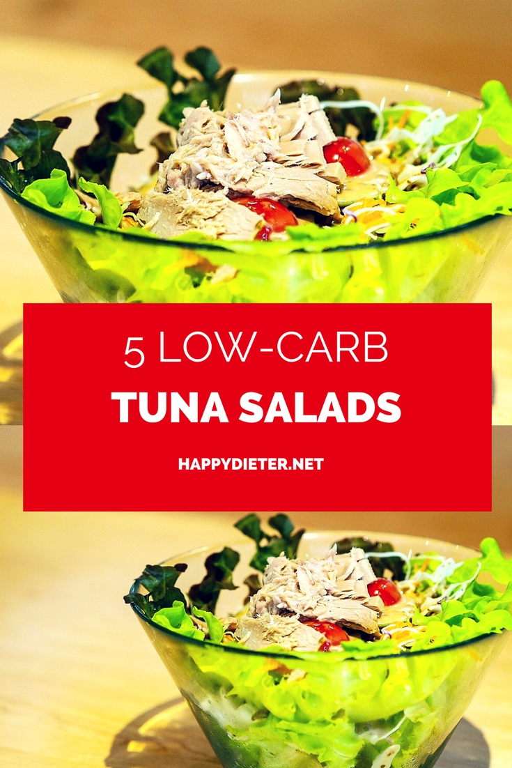 5 Low-Carb Tuna Salads